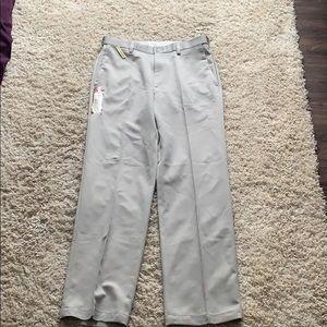 Haggar men's khaki pants